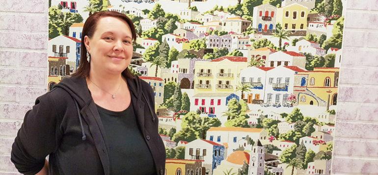 Digitaidot-hanke on käynnistynyt Hiiden Opistossa hankekoordinaattori Anne-Marie Malisen luotsaamana