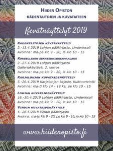 kevätnäyttelyt_2019_Hiiden_Opisto
