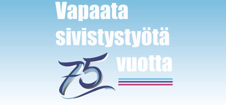vapaata sivistystyötä 75 vuotta