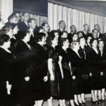 Lohjan työväenopiston kuoro 1957